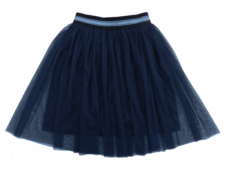 740040825599 Detská baletná sukňa tmavo modrá 134 empty